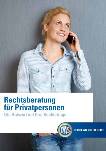 Rechtsberatung für Privatpersonen - DAS Rechtsschutz