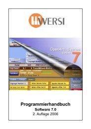 Programmierhandbuch - Wersi Orgel Studio Thum, Orgeln Keyboard ...