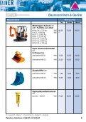 Baumaschinen Mietpreisliste - Gundlach Diamantwerkzeuge - Seite 4