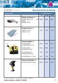 Baumaschinen Mietpreisliste - Gundlach Diamantwerkzeuge - Seite 6
