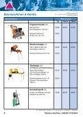 Baumaschinen Mietpreisliste - Gundlach Diamantwerkzeuge - Seite 7