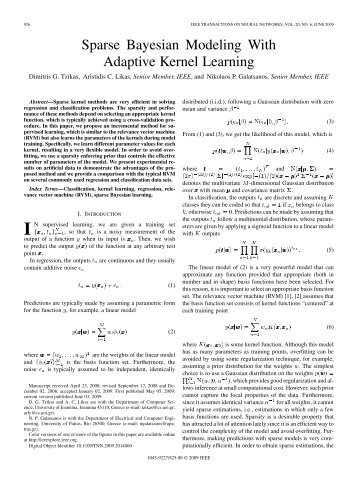 Sparse Bayesian Modeling With Adaptive Kernel Learning