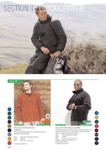 OUTDOORWEAR - CKL