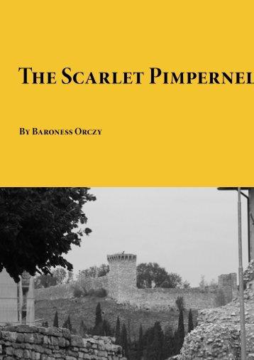 The Scarlet Pimpernel - Planet eBook