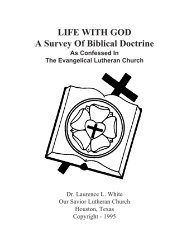 LifeWithGod 1.pdf - Our Savior Lutheran Church