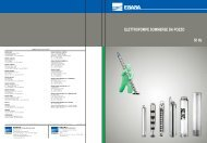 Catalogo: Elettropompe sommerse da pozzo - Roffia