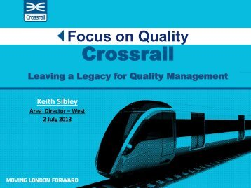 Crossrail - Chartered Quality Institute