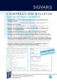 Compression Bulletin 18 - Sigvaris