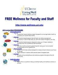 Well PROGRAMS - Wellness