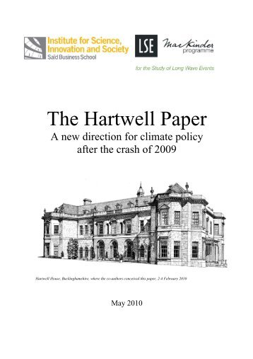 The Hartwell Paper - Eureka - University of Oxford