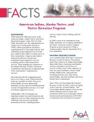 American Indian, Alaska Native, and Native Hawaiian Program