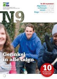 het meest recente nummer van N9 - Hogeschool-Universiteit Brussel