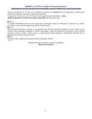 ORDIN nr. 5575 din 7 octombrie 2011 pentru aprobarea ...