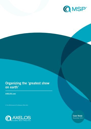 Organizing the 'greatest show on earth' - Best Management Practice