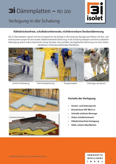 3i-isolet Katalog - Alther Bau Consulting