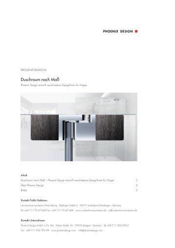 presseinformation unternehmen pdf phoenix design. Black Bedroom Furniture Sets. Home Design Ideas