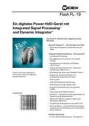 Flash FL-19 - Widex