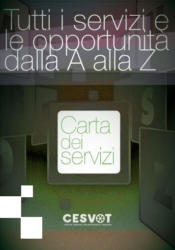 Carta dei servizi Cesvot - Amazon Web Services