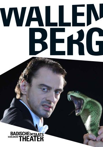 WallenberG - Badisches Staatstheater - Karlsruhe