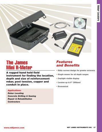 The James Mini R-Meter - Accurate Instruments