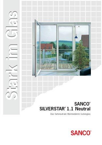 SANCO Silverstar Wärmedämm Isolierglas - Ayinger Glaserei