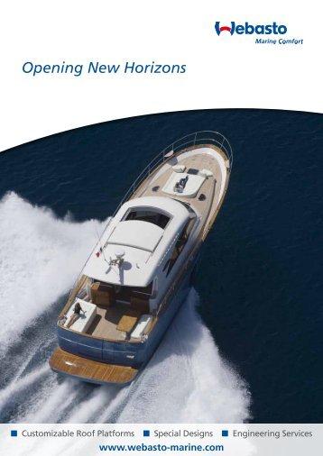 Download Roof Brochure - Webasto Marine