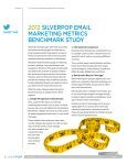 2012 Silverpop Email Marketing Metrics Benchmark Study - Page 2