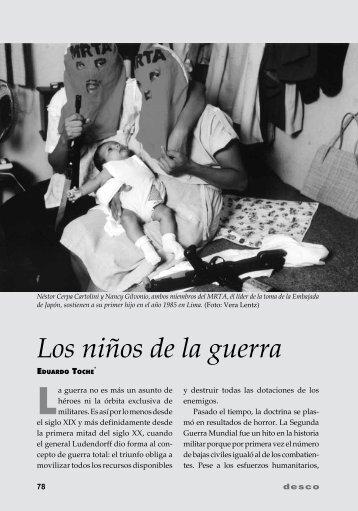 Los niños de la guerra - Desco