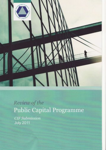 CIF Submission - Department of Public Expenditure and Reform