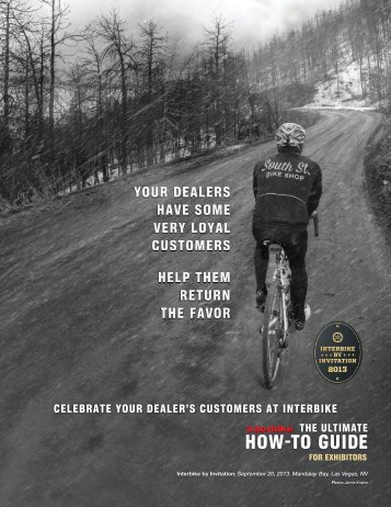 Download the Interbike By Invitation Exhibitor How To Guide Brochure
