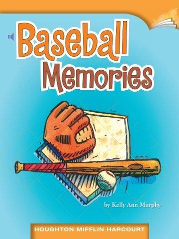 Lesson 5:Baseball Memories