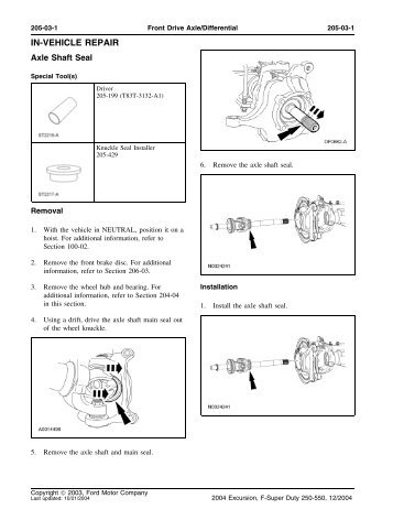 FRONT AXLE SEAL.pdf - TheDieselStop.com