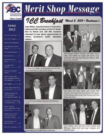 April 2012 Newsletter - ABC