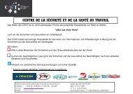 Angebot 2014 - Centre de la Sécurité & de la Santé au Travail