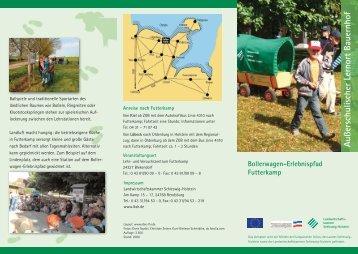 Flyer Bollerwagen-Erlebnispfad - Lernen durch Erleben - Projekt ...