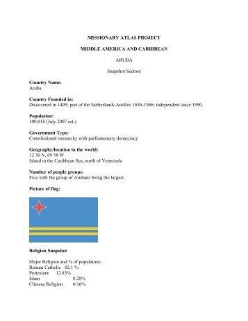 ARUBA Profiile.pdf - WorldMap