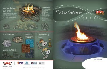 HPC Outdoor Ambiance Brochure