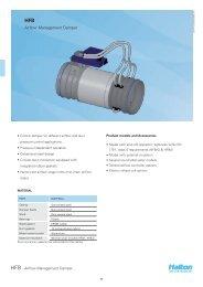 Airflow Management Damper - Halton