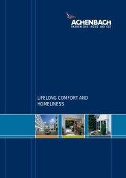 lifelong comfort and homeliness - Achenbach Fensterbau GmbH