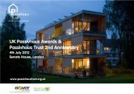 Download the Awards Invitation Flyer - Passivhaus Trust