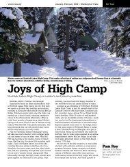 Joys of High Camp - Washington Trails Association