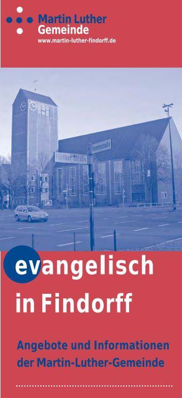 Evangelisch in Findorff« zum Herunterladen als PDF. - Martin-Luther ...