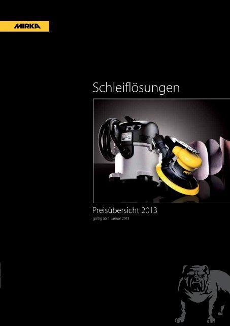 Exzenterschleifer Druckluft Anschluss 75mm K2000 Mirka Abralon Scheiben Schwamm