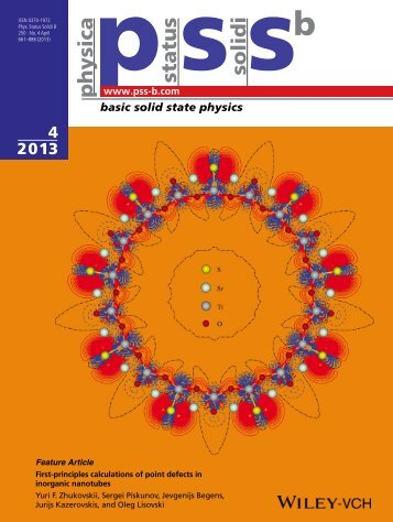 basic solid state physics - Institute of Solid State Physics (ISSP ...