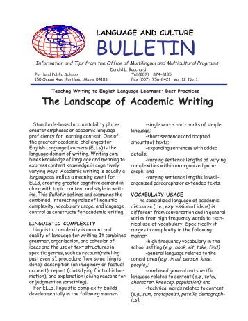 Academic writing meaning pdf
