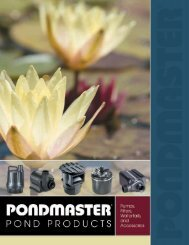 magnetic-drive utility pumps - Pondliner.com