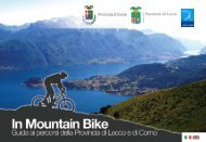 In Mountain Bike - Lago di Como