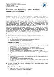Beurteilungskriterien - dbis - Humboldt-Universität zu Berlin