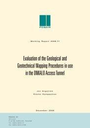 ONKALO Evaluation report - Posiva