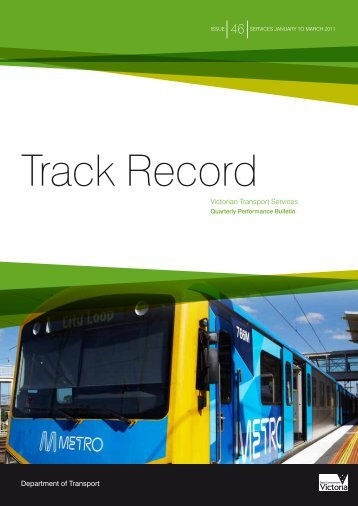 Track Record 46, January to March 2011 - Public Transport Victoria